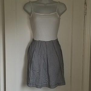 5/$25 GAP spaghetti strap pleaded dress XS